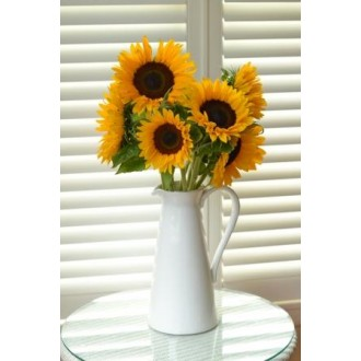 Sunflowers in Jug