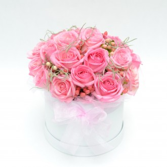 Rose Posy Hat Box